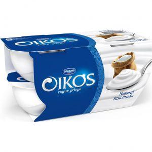 Yogur  natural azucarado oikos p-4x110g
