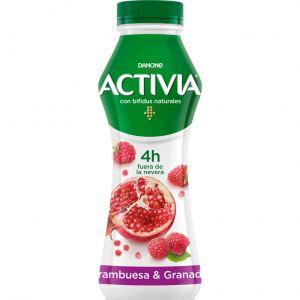 Yogur liquido frambr granad activia 280g