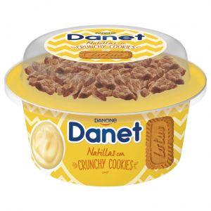 Natillas topper crunchy cookie vainilla danet 122ml