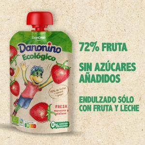 Pouch eco fresa danonino 100g