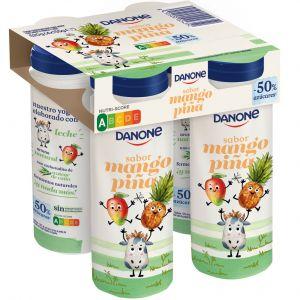 Yogur bebibles kids mango-piña danone p4 x155gr