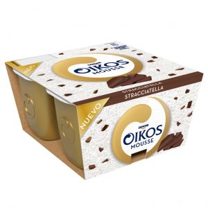 Mousse chocolate y coco oikos p4x55g