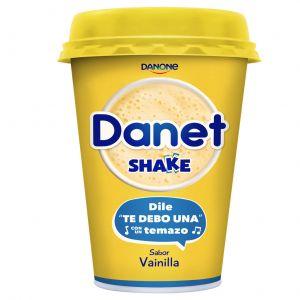 Batido shake vainilla danet 211ml