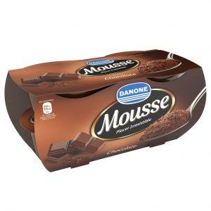 Mousse de chocolate danone p-4 500gr