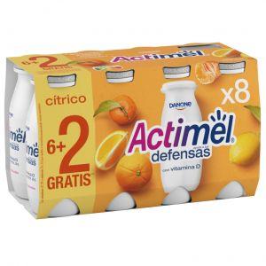 Actimel citricos danone p-6+2x 100gr
