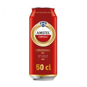 Cerveza amstel lata 50cl