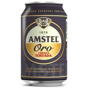 Cerveza   amstel oro lata 33cl