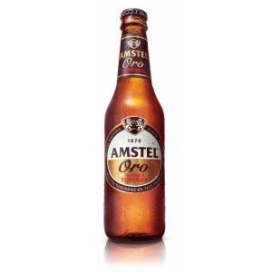 Cerveza oro  amstel botella 33cl