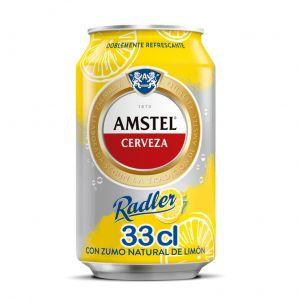 Cerveza radler amstel lata 33cl