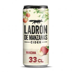 Cider sabor manzana de ladron de manzanas lata de 33cl