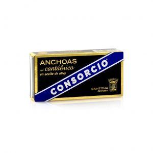Anchoa cantabra aceite de oliva consorcio rr50 29g ne