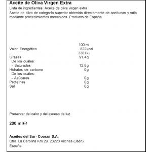 Aciete oliva virgen extra la española spray 200ml