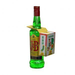 Whisky j.b. botella de 70cl
