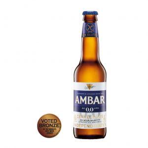 Cerveza celiacos 0% ambar botella 33cl