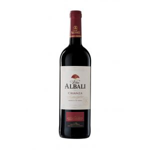 Vino valdepeñas tinto viña albali crianza 75cl