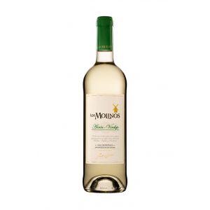 Vino valdepeñas verdejo blanco los molinos 75cl