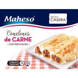 Canelones caseros carne con bechamel maheso 1k