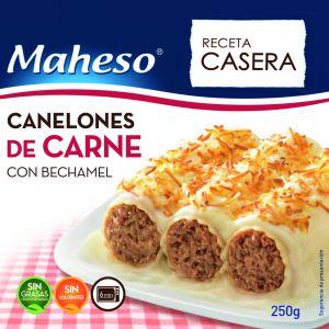Canelones carne con bechamel maheso 250g