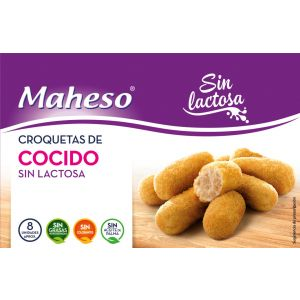 Croquetas sin lactosa cocido maheso 300g