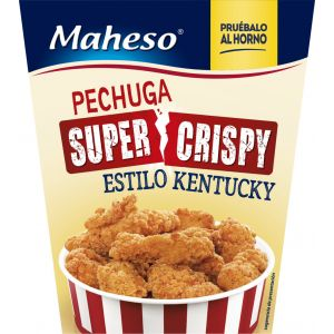 Pechuga de pollo kentucky maheso 250g