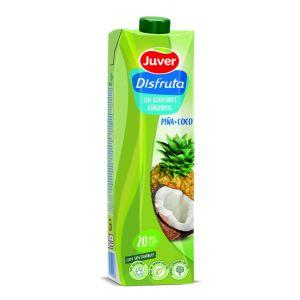 Nectar de exotico sin azucar de piña-coco disfruta juver 1l