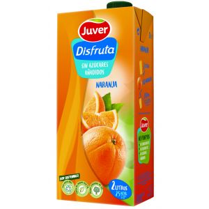 Nectar sin azucar de naranja disfruta brik 2l