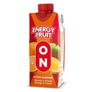 Bebida fruta ener guarana on juver brick 33cl