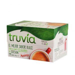 Edulcorante stevia truvia granulado 40 sobres
