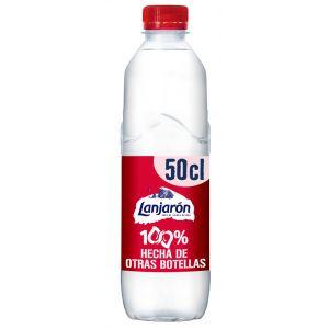 Agua mineral  lanjaron pet 50cl fria