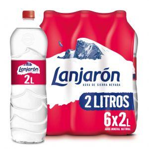 Agua mineral  lanjaron pet 2l