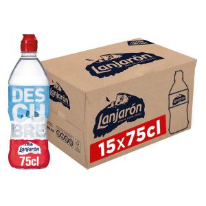Agua mineral  lanjaron tapon sport 75cl