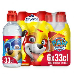 Agua mineral  lanjaron pet kids 33cl