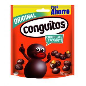 Cacahuete tostado cubierto de chocolate   conguitos bolsa 350g