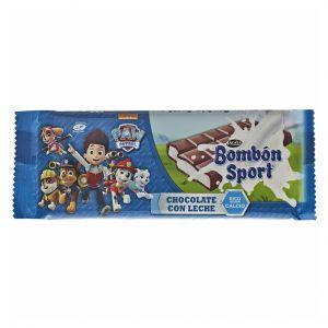 Chocolate bombon sport  lacasa  125g