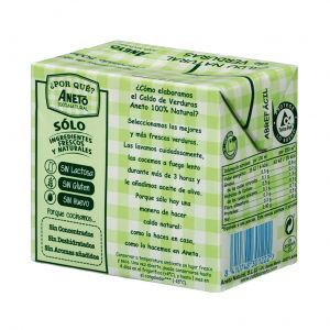 Caldo natural verdura aneto brik 500ml