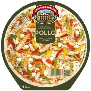 Pizza fresca de pollo casa tarradellas 410g