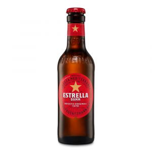 Cerveza estrella damm bot 25cl