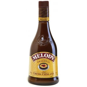 Licor de crema catalana melody botella de 70cl