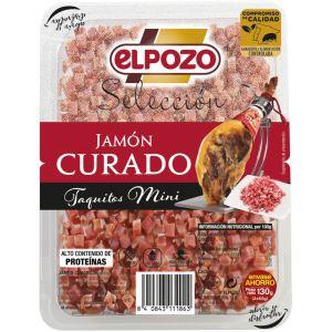 Taquitos jamon curado sin gluten sin lactosa el pozo p2x65g