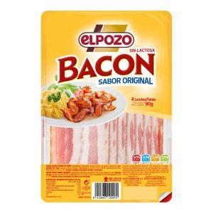 Bacon ahumado el pozo lonchas 90g pvp 1€