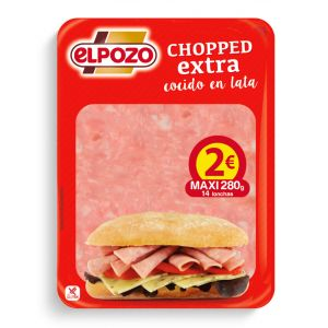 Chopped pork lata  el pozo lonchas maxi tp 280g