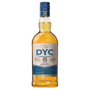 Whisky 8 años  dyc botella de 70cl