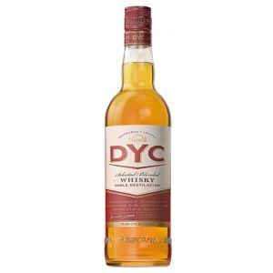 Whisky 5 años  dyc botella de 1l