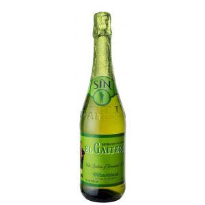 Sidra sin alcohol el gaitero botella de 75cl