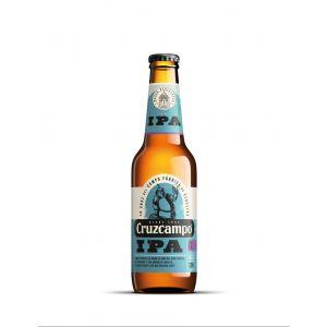 Cerveza ipa cruzcampo bot 33cl