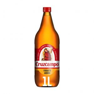Cerveza cruzcampo bot 1l