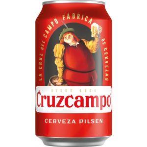 Cerveza cruzcampo lata 33cl