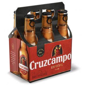 Cerveza cruzcampo especial bot p-6x20cl