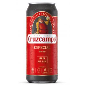 Cerveza cruzcampo especial lata 50cl