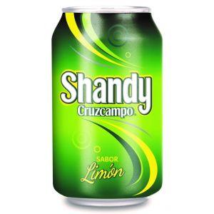 Cerveza shandy cruzcampo lata 33cl